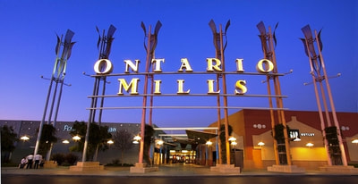 Ontario Mills sign
