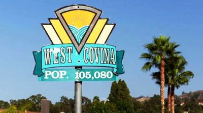 City of West Covina sign